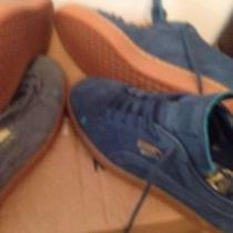 2pair Puma Suede Shoes Photo