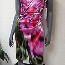 2pc Lot Maggy London Sz4 Plus Betsey Johnson Flower Necklace D16 Photo