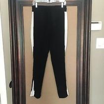 3.1 Philip Lim Black/ivory Silk Pant With Adjustable Side Zips - Womens Sz 0 Photo