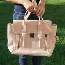 3.1 Philip Lim Pashli Medium Satchel Blush Pink Leather Brand New 895 Nwot Photo