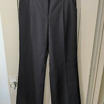 3.1 Philip Lim Women's Pants Size 6 Black Wool Silk Lining Photo