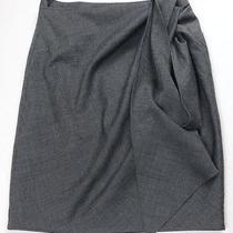 3.1 Phillip Lim a-Line Wool Blend Wrap Tie Skirt 4 Excellent Condition Photo