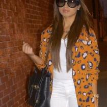 3.1 Phillip Lim for Target 20th Anniversary Leopard Print Jacket Blazer S New Photo