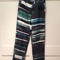 3.1 Phillip Lim Grunge Paneled Silk Pants Size 4 650 Photo