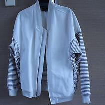 3.1 Phillip Lim Striped Multi Color White Jacket S Can Fit M Photo