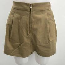 3.1 Phillip Lim Tan Solid Shorts 0 Photo