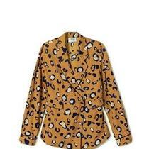 3.1 Phillip Lim Target Women's Leopard Print Long Sleeve Blazer Small (Nwt) Photo