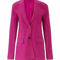 3.1 Phillip Lim Women's Blazer Pink Size 0 Two-Button Long Sleeve 695- 144 Photo