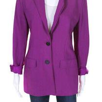 3.1 Phillip Lim Women's Fuschia Tailored Blazer Size 4 11625236 Photo