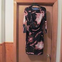 3/4 Sleeve Dress  Sm  Simply Vera Wang Black and Other Color Nwt Photo