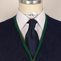 3.500 Very Rare Unique Hermes Vest Cardigan Jacket Coat Blue Us 38 Eu 48 Photo