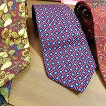 3 Burberry Men's Tie Lot Men's Authentic Photo