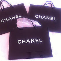 3 Chanel Shopping Tote Gift Bags Photo