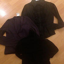 3 Genuine Tops Emporio Armani and Others Preowned  Great Condition  Mh Photo