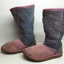 3 Girls Teen Ugg Australia Winter Suede Light Pink Boots Size 4 Photo