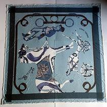 3. Hermes Paris Jersey Silk Scarf - New 100% Authentic Photo