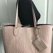 3 in 1 Steve Madden B Joyy Logo Tote Handbag Blush Pink Tote Pouch Satchel  Photo