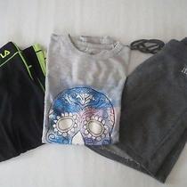 3 Items Girls 10-12 Justice Gap Kids Fila Shorts Shirt  Photo
