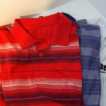 3 Mens Xl Golf Polo's All Have Course Names on Them Glen Echo Addidas Byron Nels Photo