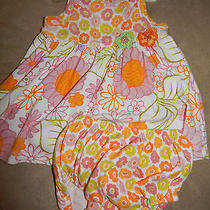 3 Mo Baby Lulu Floral Knit Sundress With Diaper Cover Boutique Photo