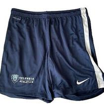 3 New Nike Dry Fit Shorts Small Women's Columbia Lions Navy Blue Photo