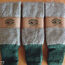 3 Pairs Hudson Bay Traders Thermal Dress Casual Hunting Boot Socks Size 10-13 Photo