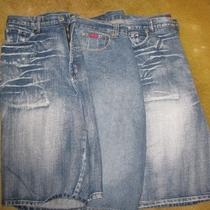 3 Pairs of Men's Shorts (2 Brooklyn Express and 1 Drunknmunky) Size 38 Photo