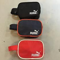 3 Pcs Puma  Small Carrying Case Cosmetic Camera Case New Photo