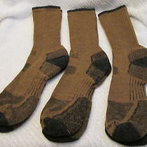 3 pr.carhartt Smart Merino Wool Designer Trekking/cycling/work  Socks 9-11-New Photo