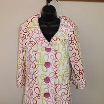 3 Sisters Jacket 3s912 S (4-6) Elle Women's Dressy Coat Reg 189 1477 Photo