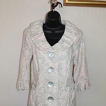 3 Sisters Jacket 3s912 S (4-6) Keepsake Women's Dressy Coat Reg 225 1476 Photo