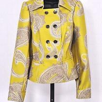 3 Sisters Jacket Clothing S (2-4) Nwt 3s925 Sweden Women's Dressy Coat Top 13210 Photo