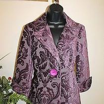 3 Sisters Jacket Nwt s(2-4) 3s933 Neiman Women's Dressy Coat Blazer Reg204 5006 Photo