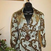3 Sisters Jacket Nwt s(2-4) Nwt 3s933 Elegance Women's Dressy Coat Blazer 5004 Photo