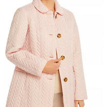 (308) Kate Spade Blush Rose Quilted Jacket Peacoat Nwt Photo