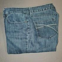 312 the Limited Women's Blue Jeans Size 8 L Flare Stretch Mid Rise Denim Photo
