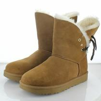 32-73  New 170 Women's Sz 8 M Ugg Constantine Genuine Shearling Boot - Chestnut Photo
