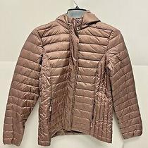 32 Degrees Heat Packable Puffer Coat Women Natural Blush Size Xs A63 Photo