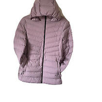 32 Degrees Heat Women's Hooded 4-Way Stretch Jacket Blush Pink  Large Size Photo