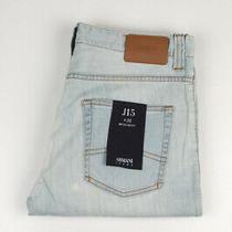 33026 Armani Jeans J15 Regular Fit Light Blue Men Jeans Size 33 Photo