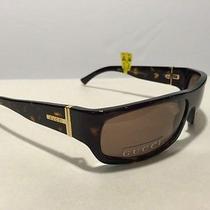 350 Gucci Unisex Sunglasses Gg1545/s 086u0 Italy Authentic Full Rim Havana Photo