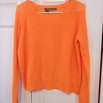 360 Cashmere Sweater Orange Small Photo