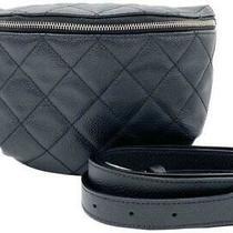 3600 Chanel Waist Bum Caviar 2019 Black Leather Messenger Bag Photo