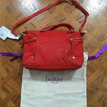 368 Women's Botkier Coral Flatiron Leather Satchel Handbag Photo