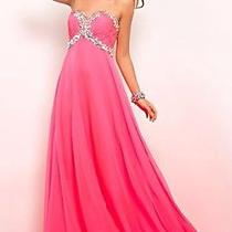 375 New Hot Pink Blush Prom Alexia Prom/pageant/formal Dress/gown 4 Style 9516 Photo