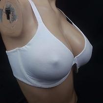 38 Dd Victoria's Secret White Racerback Unlined Demi Bra Nwt Photo