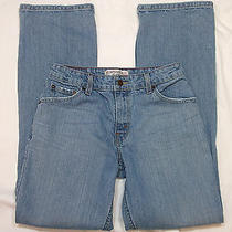 3807  Levis  Womens Jeans Mid Rise Boot Cut Stretch  Size 6 M 29.5 X 31.5  Photo