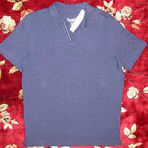 39 Kenneth Cole Reaction Mens Polo Shirt Size Medium M Authentic Purple Photo