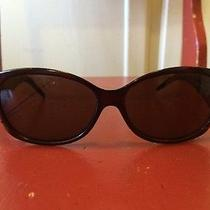 395 Authentic Fendi Sunglasses Fs407 238 Cold Insert Brown Gold 57  14 125 Photo