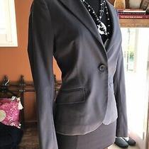 395 Theory Gray Blazer Size 6 Classic Blazer Jacket Euc Photo